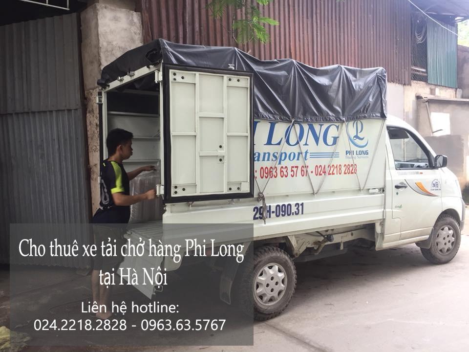 Dịch vụ xe tải chở hàng thuê tại phố Vũ Tông Phan