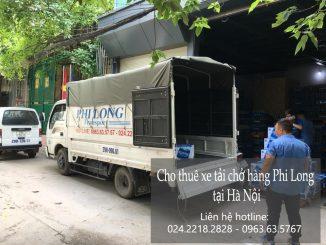 Dịch vụ xe tải chở hàng thuê tại phố Cát Linh 2019