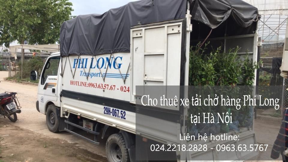 Xe tải chở hàng thuê tại phố Thiền Quang