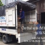 Xe tải chở hàng thuê tại đường Trần Hưng Đạo