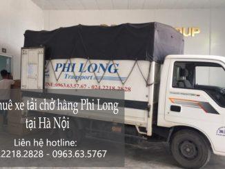 Dịch vụ xe tải chở hàng thuê tại phố Bưởi