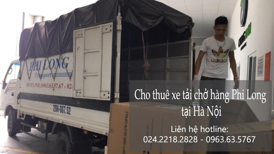 Dịch vụ xe tải chở hàng thuê tại phố Chùa Bộc