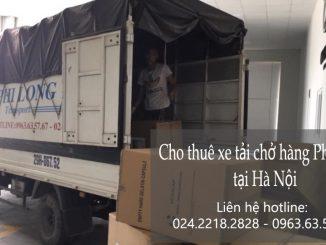 Xe tải chở hàng thuê tại phố Phan Văn Đáng
