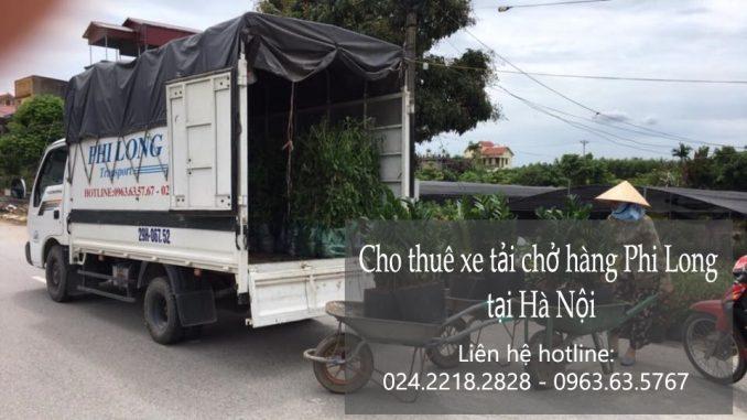 Xe tải chở hàng thuê tại phố Phú Lãm