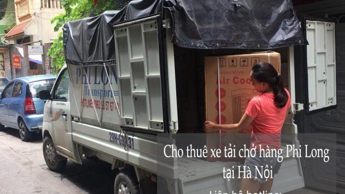 Xe tải chở hàng thuê tại phố Khâm Thiên