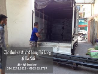 Xe tải chở hàng thuê tại phố Lạc Chính