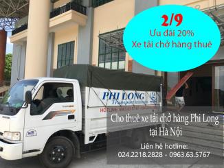Giảm giá cho thuê xe tải chở hàng ngày 2-9