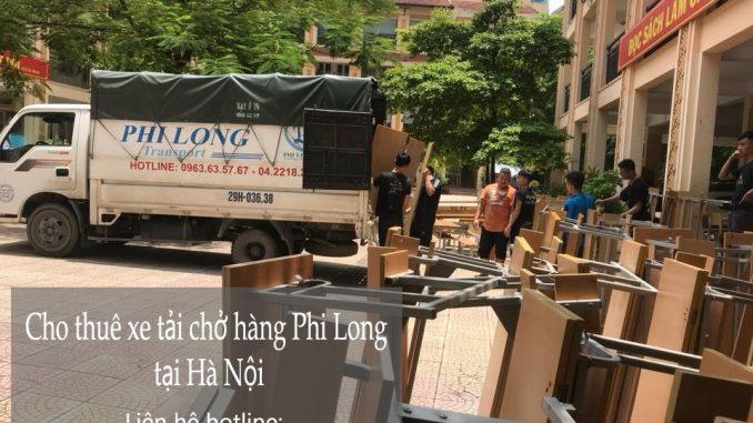Xe tải chở hàng thuê tại phố Bưởi