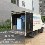 Xe tải chở hàng thuê tại phố Đặng Thai Mai