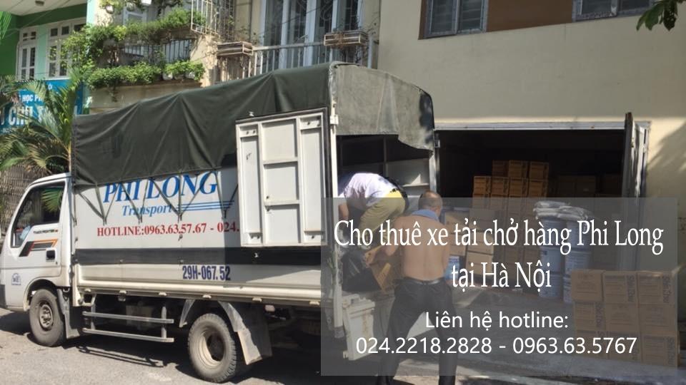 Xe tải chở hàng thuê tại phố Phạm Ngũ Lão