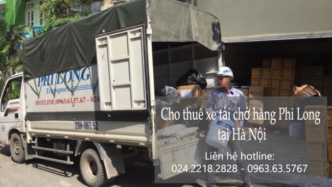 Xe tải chở hàng thuê tại Tây Sơn