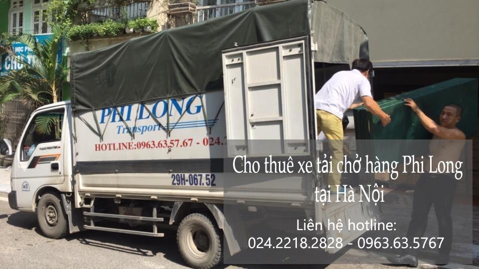 Xe tải chở hàng thuê tại phố Trích Sài