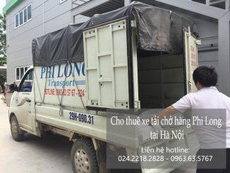 Xe tải chở hàng thuê tại phố Lê Đại Hành