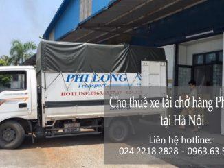 Xe tải chuyển nhà giá rẻ tại phố Hàng Chuối