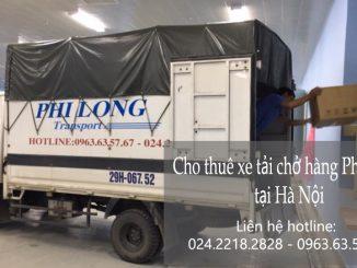 Xe tải chở hàng thuê tại phố Lương Văn Can