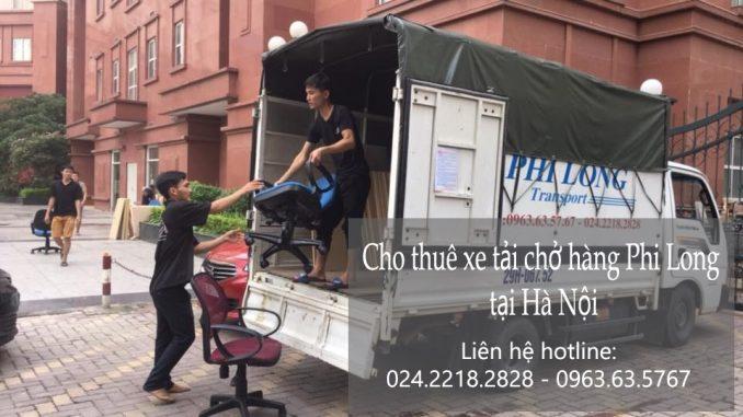Dịch vụ xe tải chở hàng thuê tại phố Hương Viên