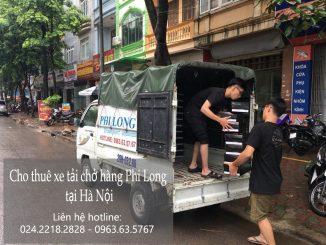 Dịch vụ xe tải chở hàng thuê tại đường Quang Tiến