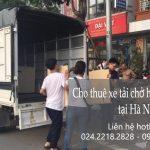 Cho thuê xe tải chở hàng thuê tại phố Yên Bình