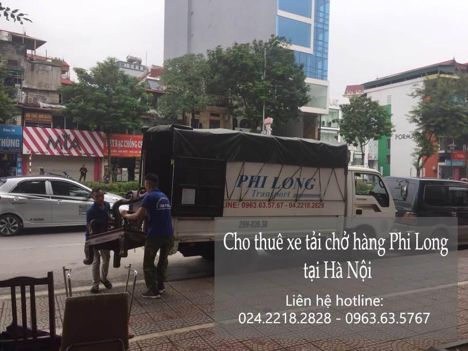 Xe tải chở hàng thuê tại phố Đinh Công Tráng