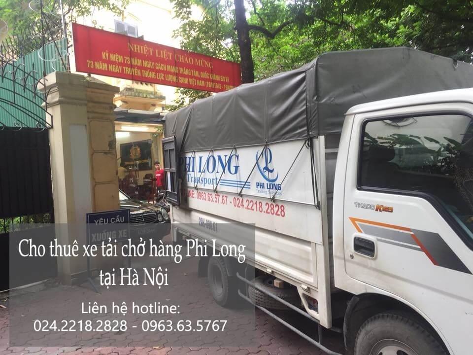 Dịch vụ xe tải chở hàng thuê tại phố Đông Thái