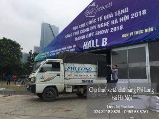 Dịch vụ xe tải chở hàng thuê tại phố Hoa Bằng
