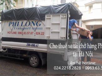 Dịch vụ xe tải chở hàng thuê tại phố Mai Xuân Thưởng