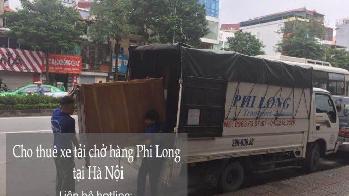 Xe tải chở hàng thuê tại phố Chu Huy Mân