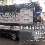 Dịch vụ xe tải chở hàng thuê tại phố Hoàng Ngân