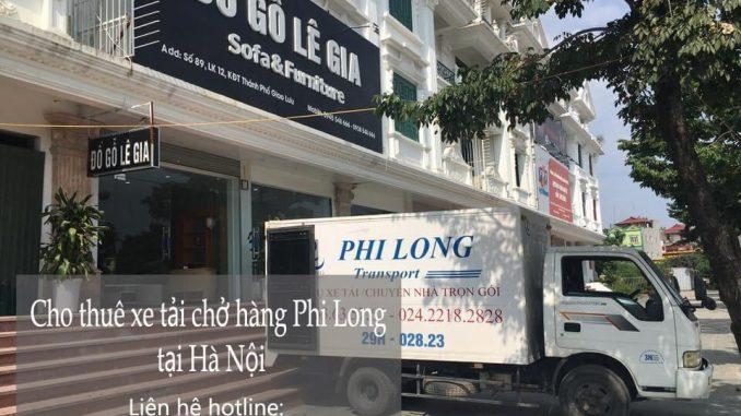 Dịch vụ xe tải chở hàng thuê tại phố Dương Khê