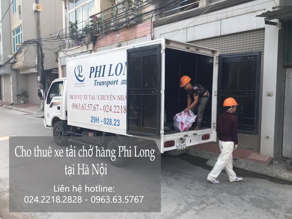 Xe tải chở hàng thuê giá rẻ tại quận 4 TP_HCM
