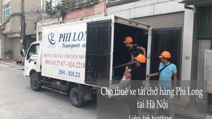Dịch vụ xe tải chở hàng thuê tại phố Đốc Ngữ