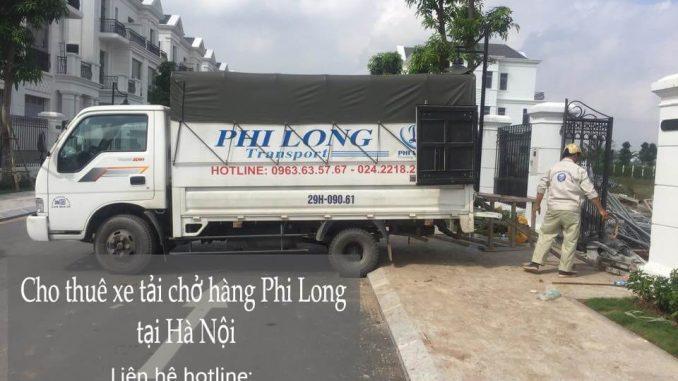 Dịch vụ xe tải chở hàng thuê tại phố Hoàng Cầu