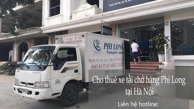 Dịch vụ xe tải chở hàng thuê tại phố Đỗ Quang