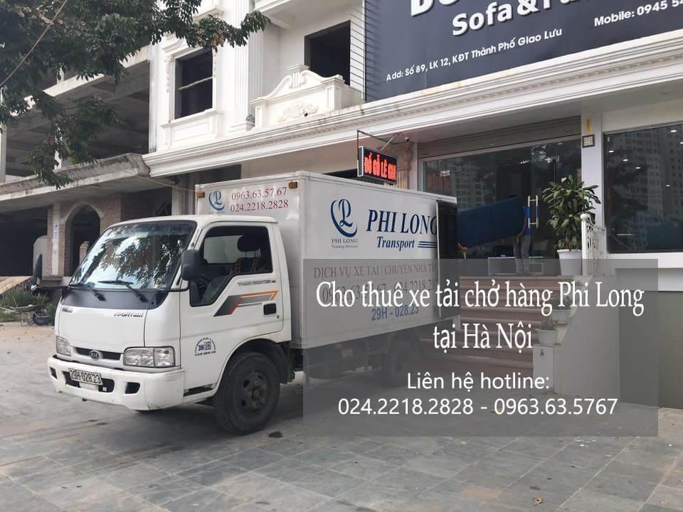 Dịch vụ xe tải chở hàng thuê tại phố Cổng Đục