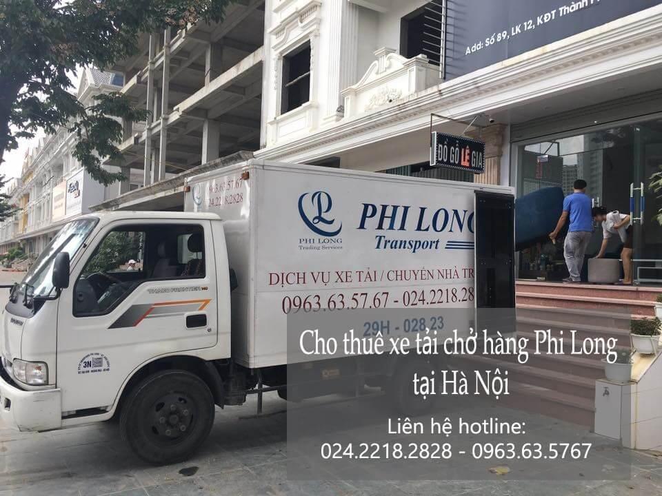 Dịch vụ xe tải chở hàng thuê tại phố Hồng Mai