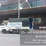 Dịch vụ xe tải tại An Xá
