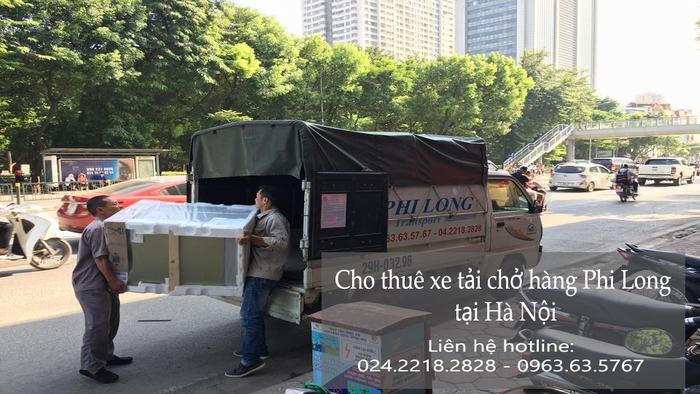 Dịch vụ xe tải chở hàng tại phố Đình Ngang