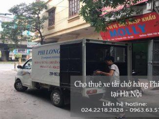 Dịch vụ xe tải chở hàng thuê tại phố Hoàng Văn Thái