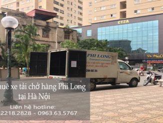 Xe tải chở hàng thuê tại phố Ấu Triệu