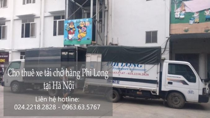Xe tải chở hàng thuê tại phố Đường Thành