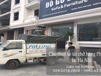 Dịch vụ chở hàng thuê tại phố Tư Đình