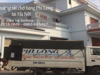 Xe tải chở hàng thuê tại phố Cửa Đông