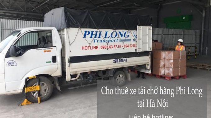 Dịch vụ xe tải chở hàng thuê tại phố Kim Mã Thượng