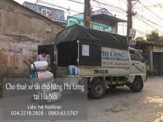 Xe tải chở hàng thuê tại phố Hàng Chai