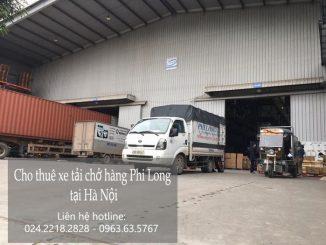 Xe tải chỏ hàng thuê tại phố Hàng Da