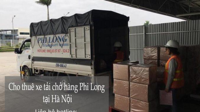 Xe tải chở hàng thuê tại phố Hàng Tre