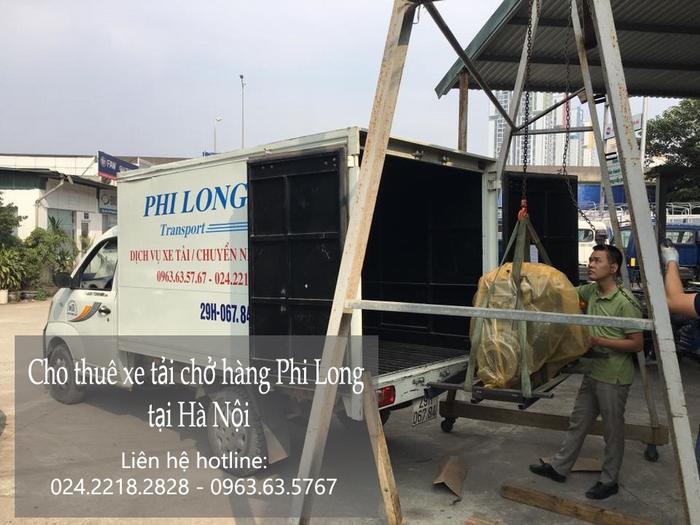 Xe tải chở hàng thuê tại phố Đinh Lễ