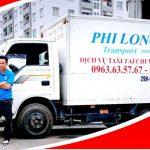 Xe tải chở hàng thuê tại phố Nam Tràng