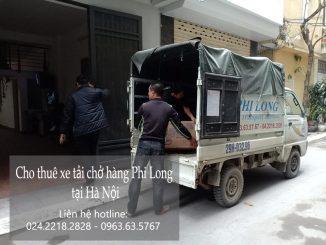 Dịch vụ xe tải chở hàng thuê tại phố Hoàng Thế Thiện
