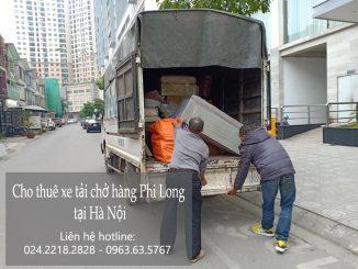 Xe tải chở hàng thuê tại phố Nguyễn Phạm Tuân